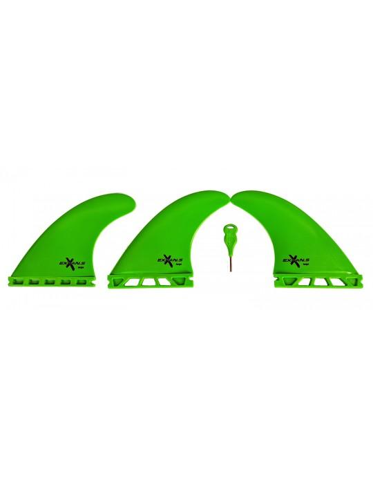 Quilhas Encaixe Future Expans Large Verde