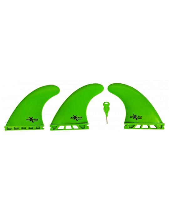 Quilhas Encaixe Future Expans Media Verde