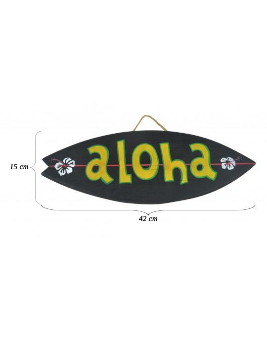 Pranchinha Decorativa Aloha Preto