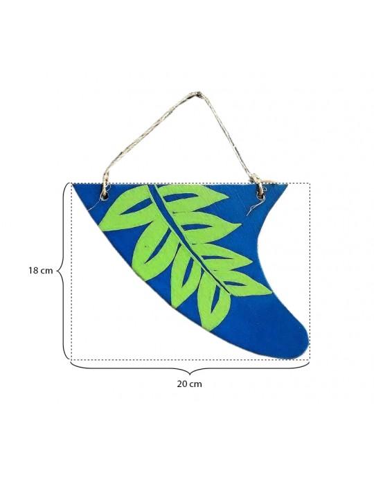 Quilha Decorativa - Folhas