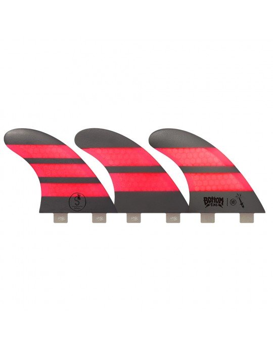 Quilhas Fibra de Vidro BTT Small Bottom Fins