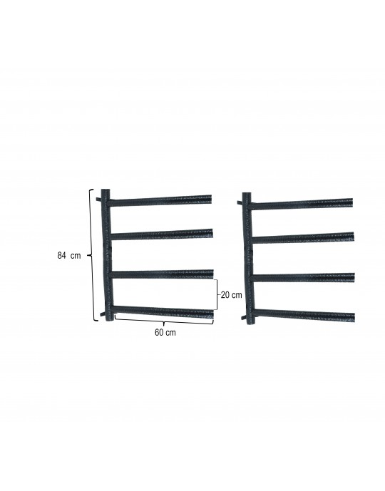 Rack Para 4 Pranchas Stand Up Paddle - Horizontal