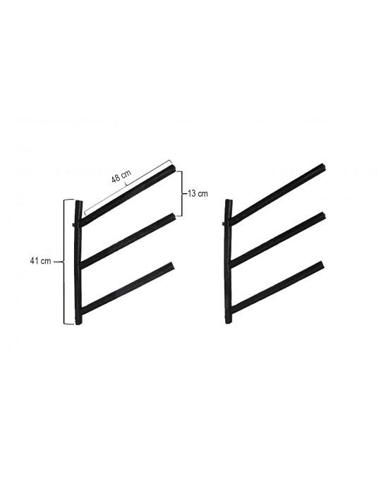 Rack Para 3 Pranchas de Surf 45º - Horizontal