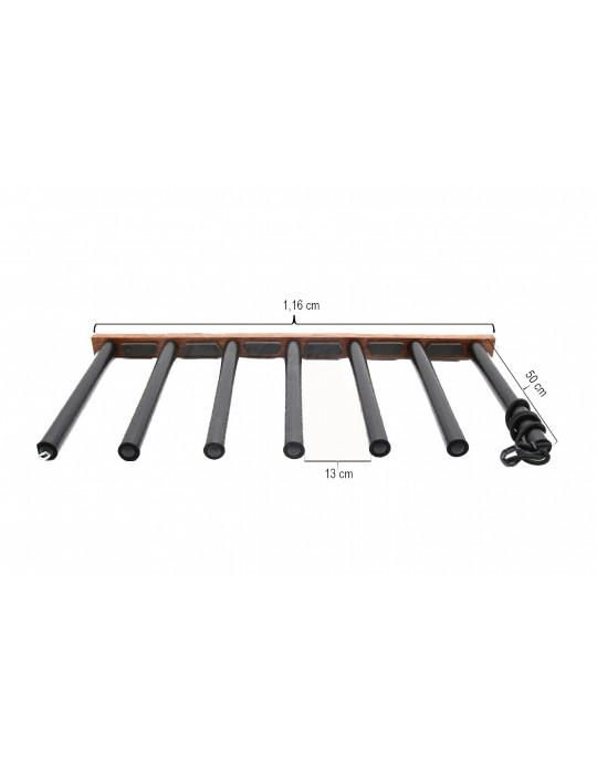 Rack Para 6 Pranchas Stand Up Paddle - Vertical - Madeira