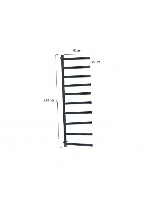 Rack Para 10 Pranchas Stand Up Paddle - Horizontal