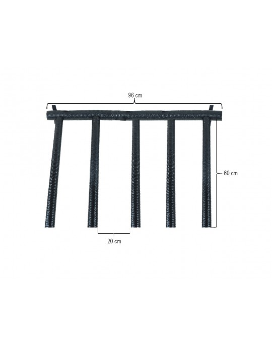 Rack Para 4 Pranchas Stand Up Paddle - Vertical