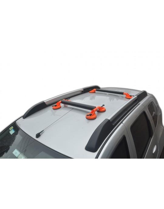 Rack Universal Veículo com 4 e 2 ventosas