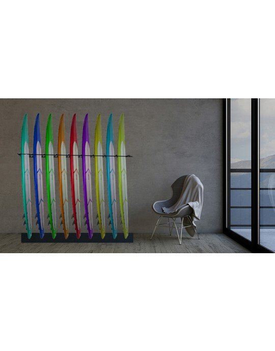 Rack Para 9 Pranchas Stand Up Paddle - Vertical
