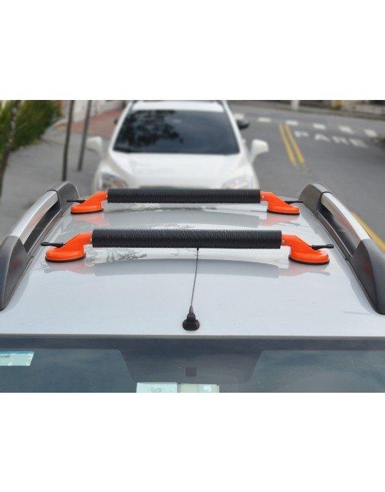 Rack para teto de carro ventosa para pranchas de surf, stand up e caiaques