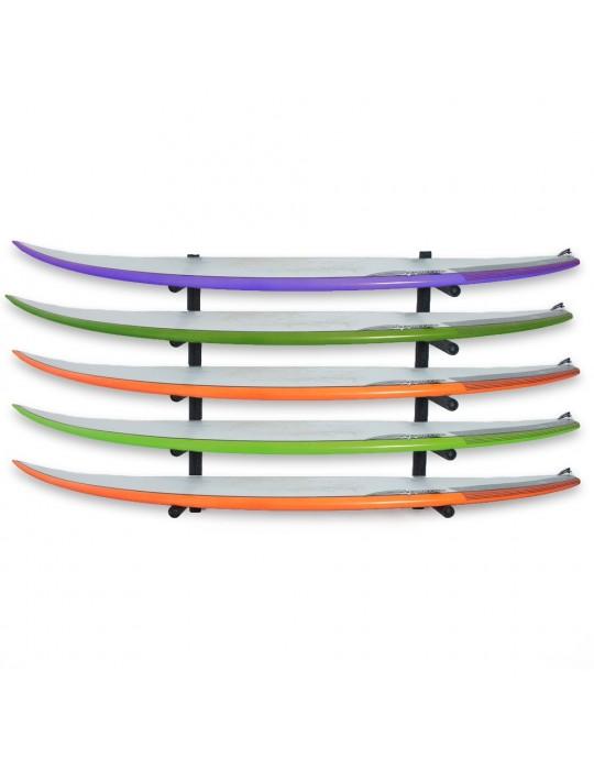 Rack Para 5 Pranchas de Surf - Horizontal