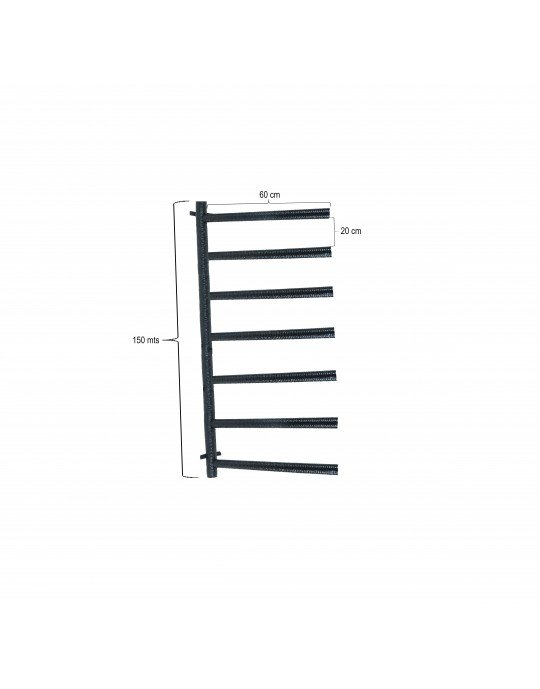 Rack Para 7 Pranchas Stand Up Paddle - Horizontal