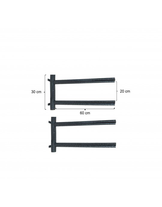 Rack Para 2 Pranchas Stand Up Paddle - Horizontal