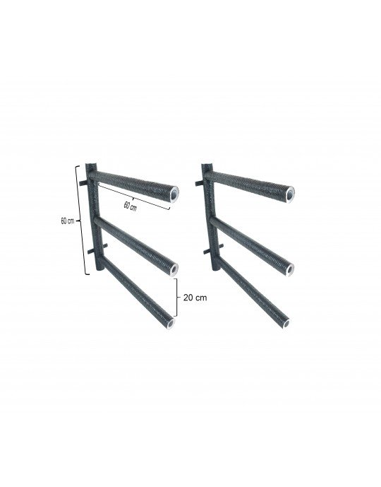 Rack Para 3 Pranchas Stand Up Paddle - Horizontal