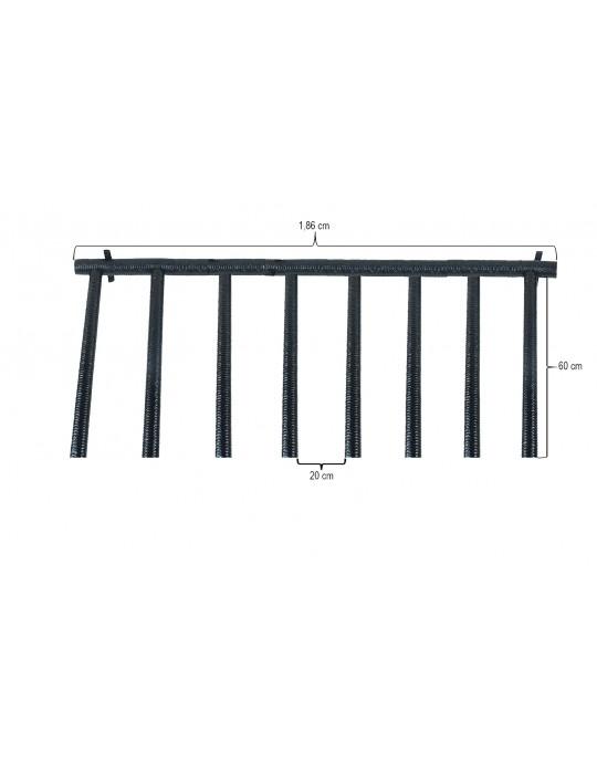 Rack Para 8 Pranchas Stand Up Paddle - Vertical