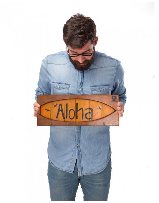 Shape Chaveiro De Surf Aloha