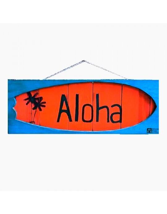 Shape Aloha Laranja/Azul