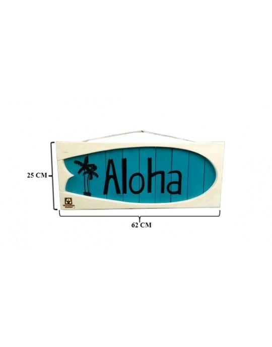 Shape Aloha Branco/Azul