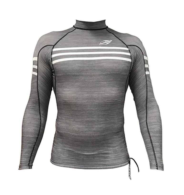 Camisa Lycra Manga Longa Ultra Skin Mormaii UV50+ Cinza | Prancharia
