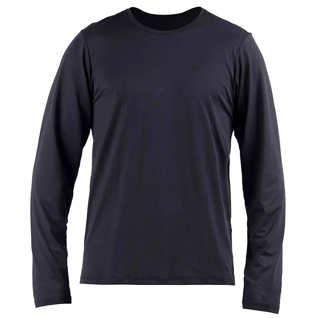 Camisa Manga Longa Dry Action 3a uv Mormaii Masculino - Preto   Prancharia
