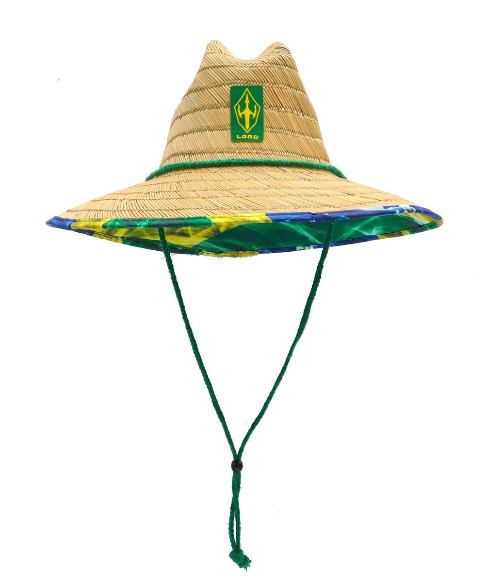 Chapéu Palha Surf Lord Acabamento Brasil   Prancharia