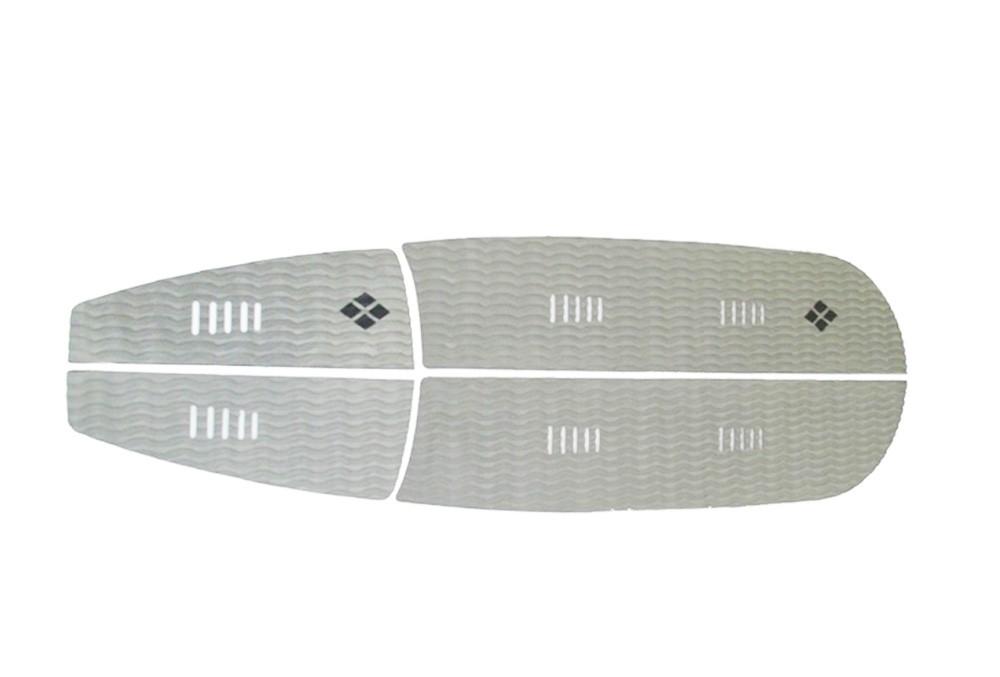 Deck para prancha stand up paddle com 6 mm de espessura Cinza | Prancharia