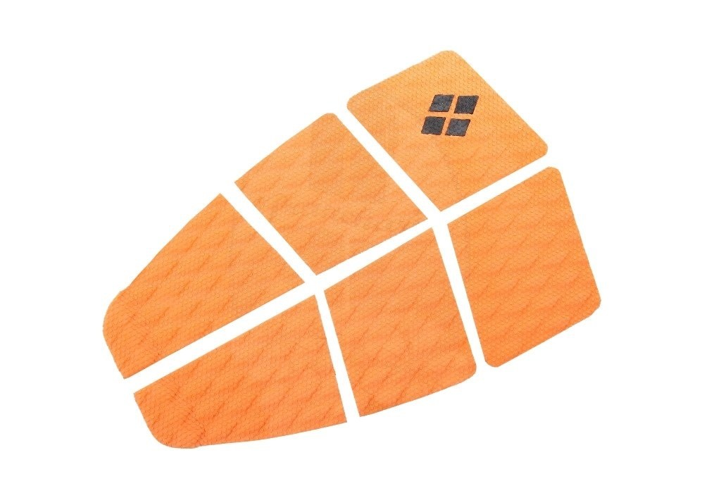Deck Surf 6 Partes Rubber Sticky Laranja | Prancharia