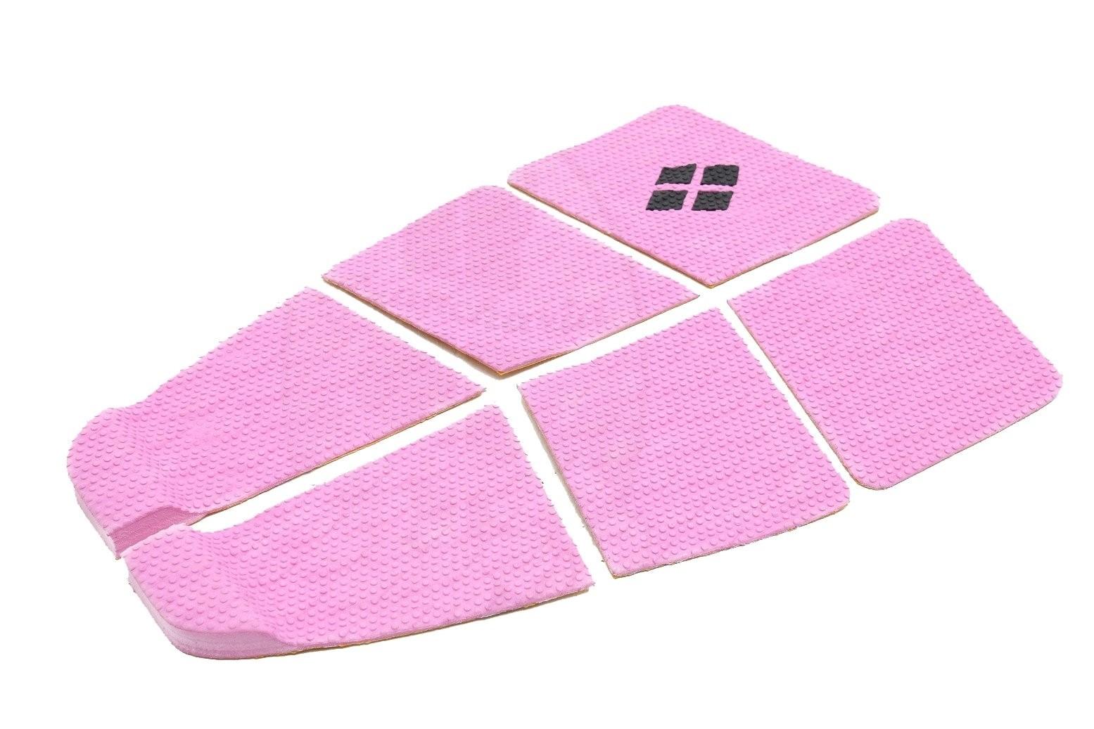 Deck Surf 6 Partes Rubber Sticky Rosa | Prancharia