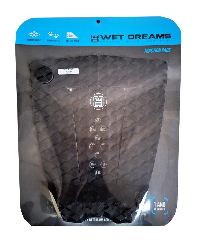 Deck Surf Wet Dreams Fresado Big Surf Preto