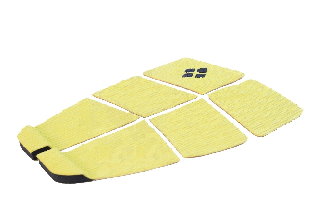 Deck Surf 6 Partes Rubber Sticky Amarelo | Prancharia