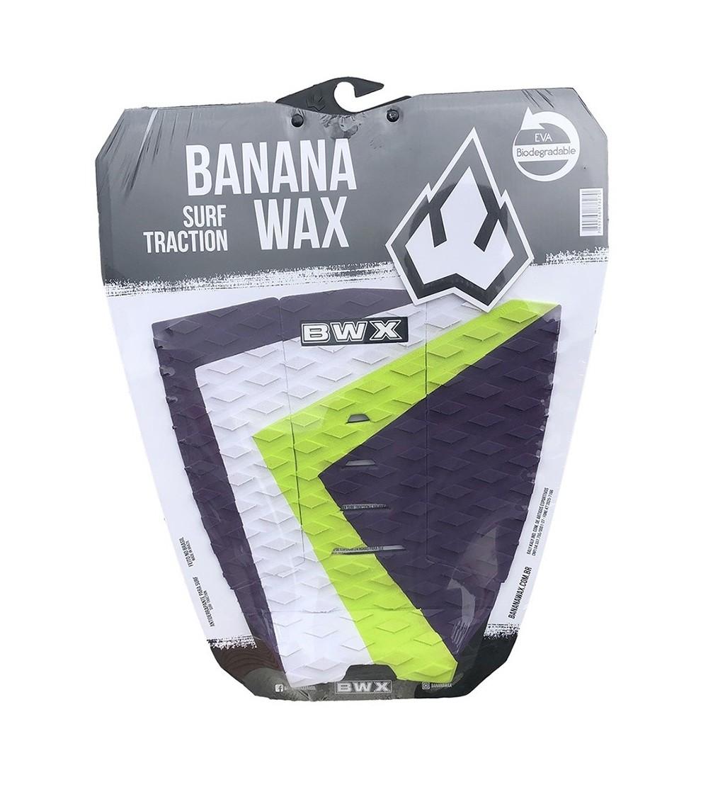 Deck Surf Banana Wax Fresado Roxo 3 Partes
