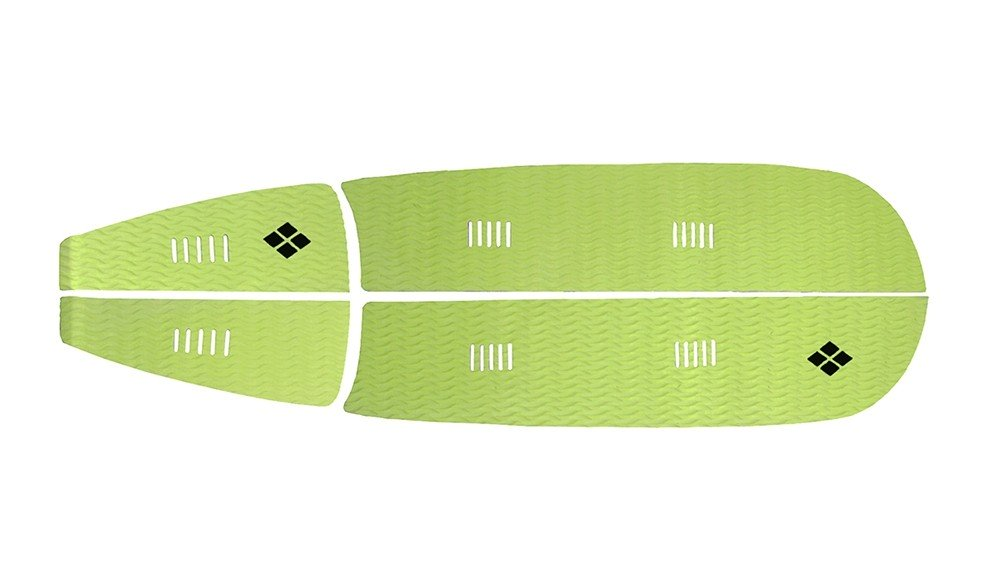 Deck Stand Up Paddle Rubber Sticky 6 mm Verde Claro | Prancharia