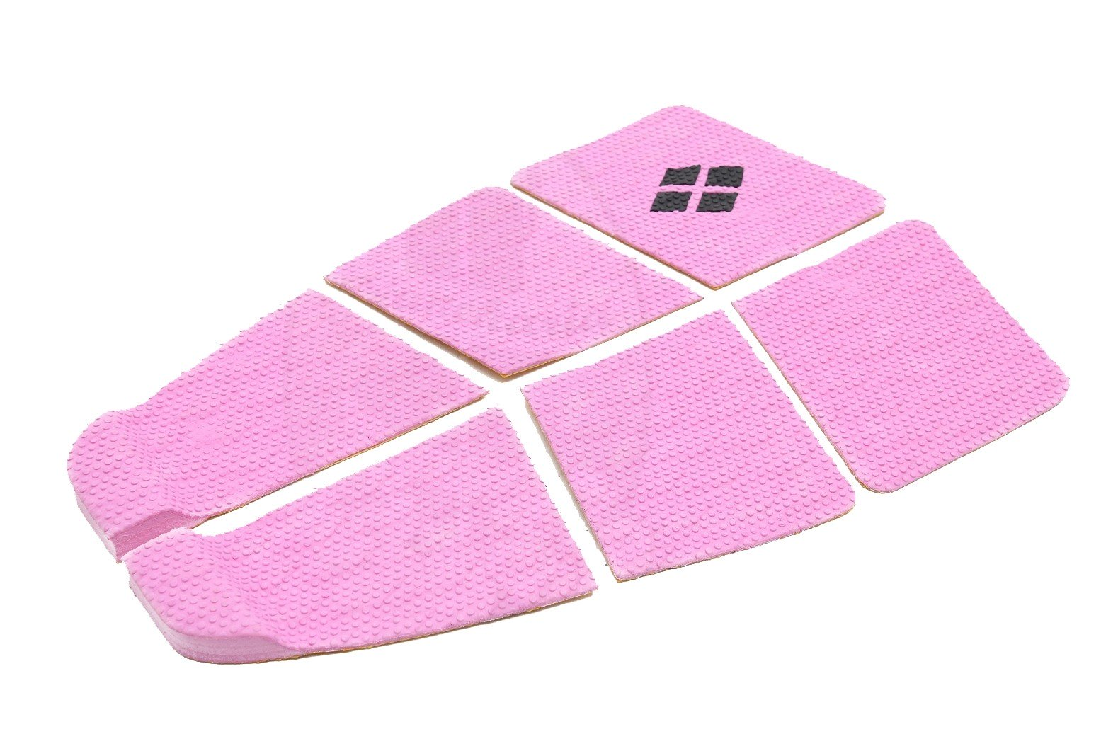 Deck Surf 6 Partes Rubber Sticky Rosa | Prancharia