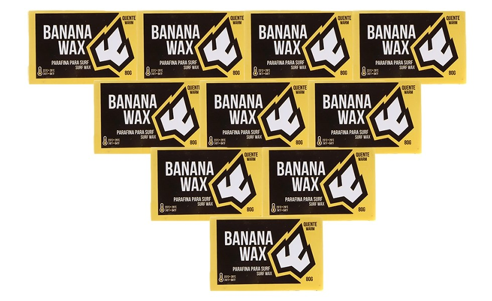 Kit com 10 Parafinas Banana Wax Água Quente Pancharia