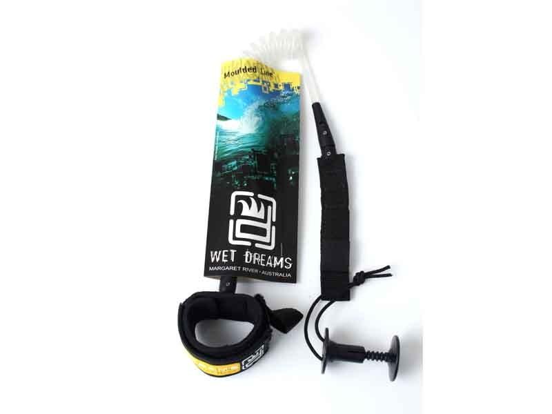 Leash Bodyboard Bíceps 7.0mm - Wet Dreams Moulded Line   Prancharia