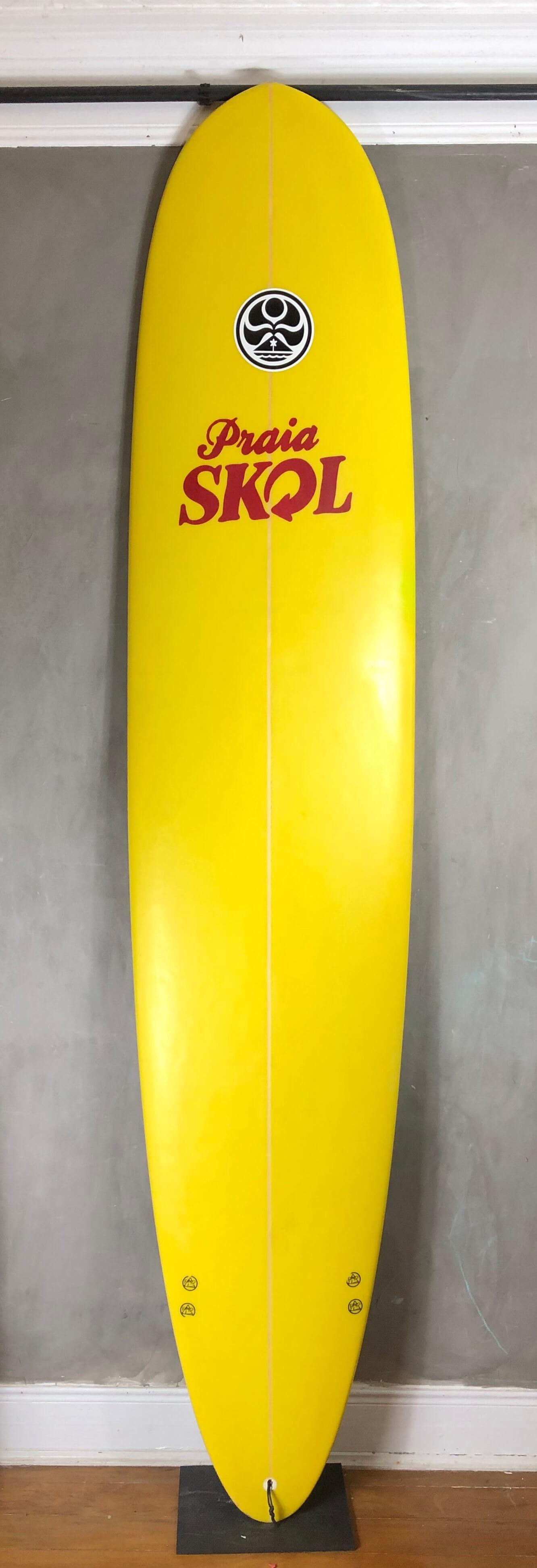 "Longboard Auckland 9'0"" Amarelo Seminovo"