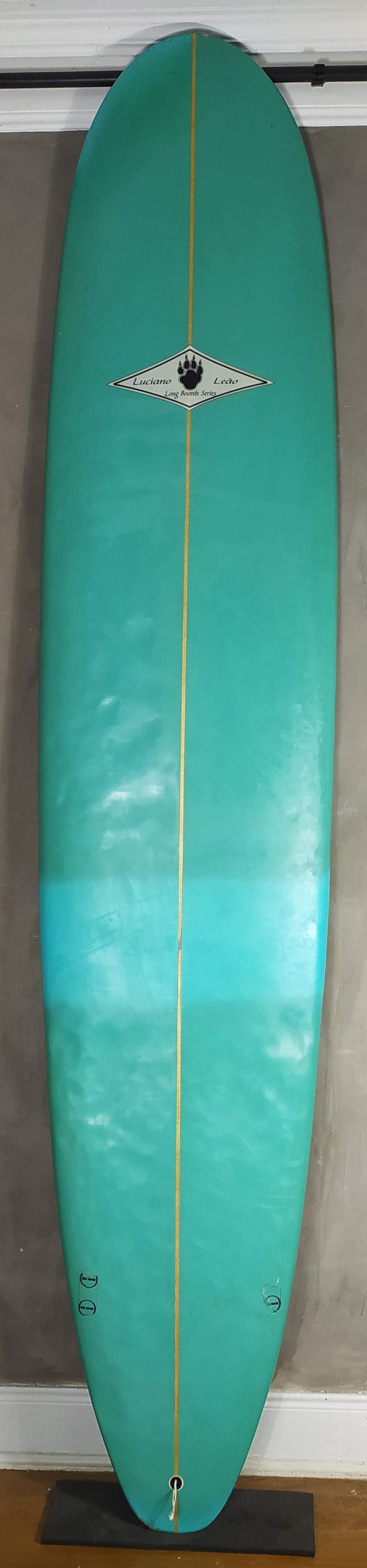 "Longboard Luciano Leão 9'2"" Azul Seminovo"