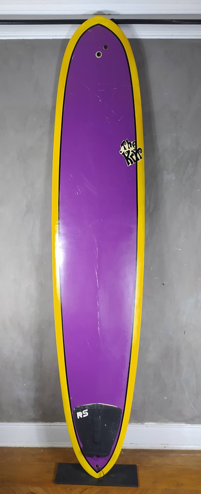 "Longboard The Kryp 9'0"" Roxo Seminovo"