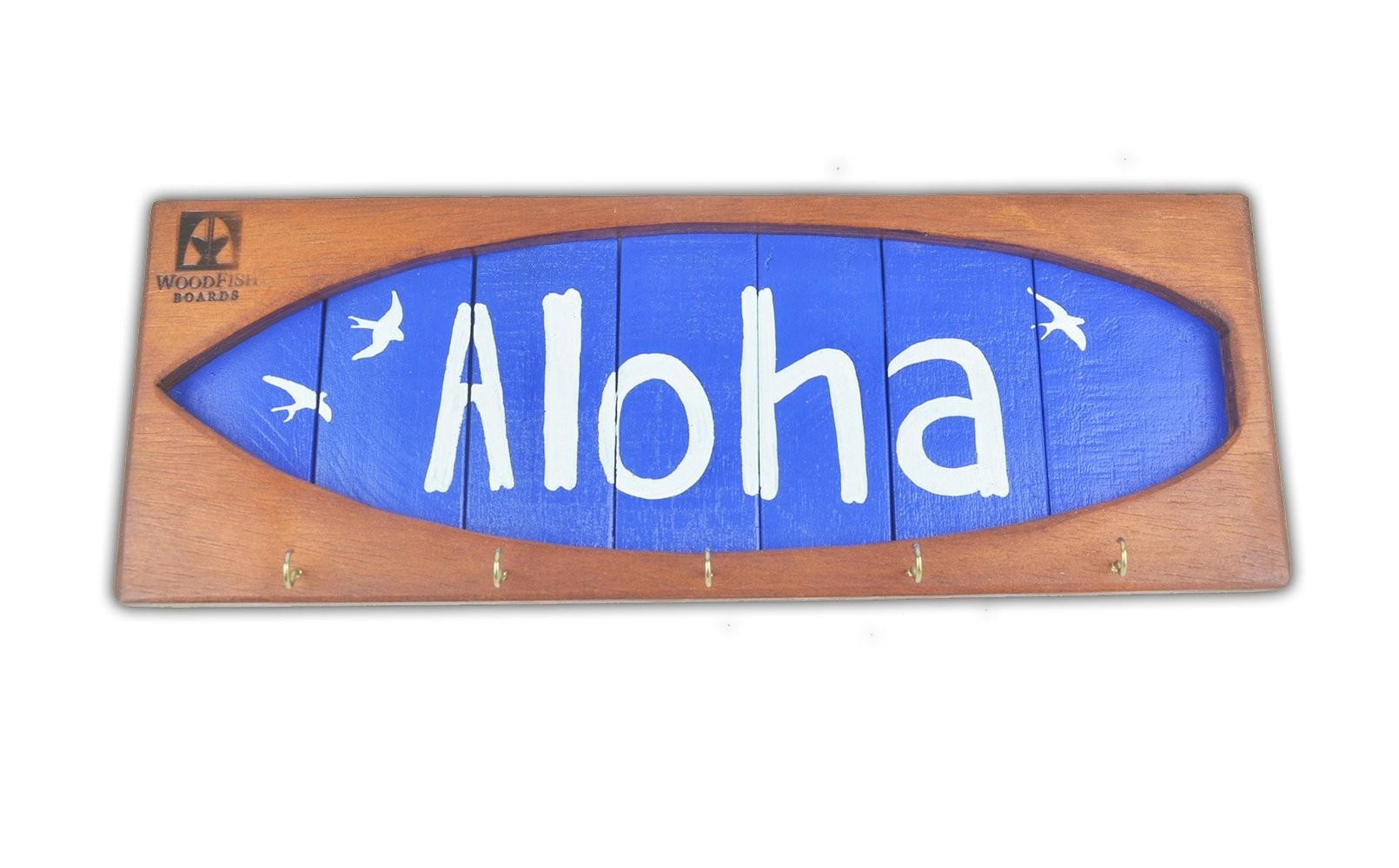 Shape Chaveiro De Surf Aloha Azul   Prancharia