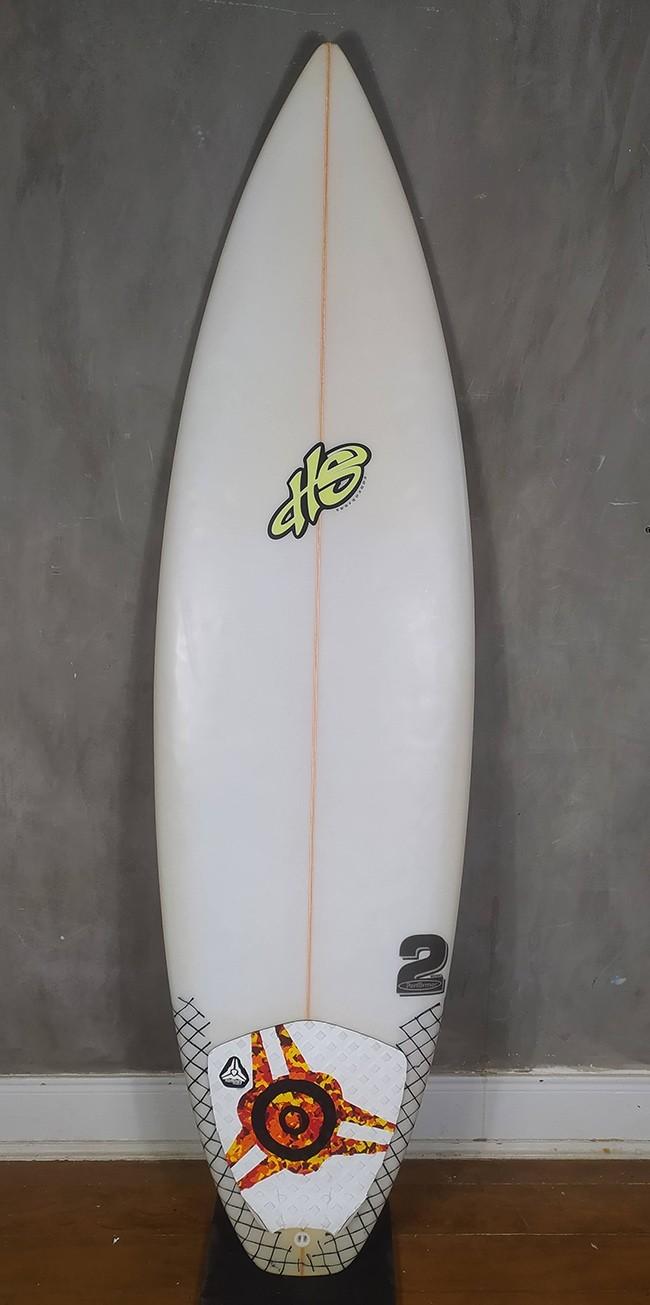 Prancha de Surf 5'10 Paulo Rabello Seminova
