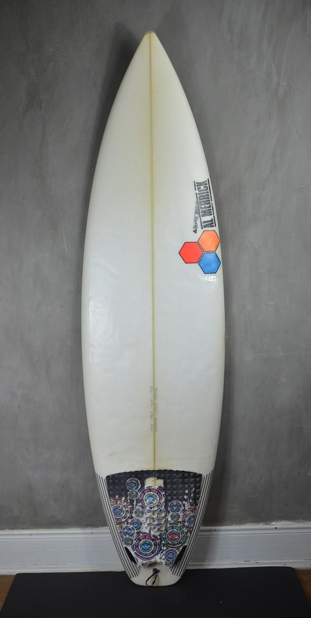 "Prancha de Surf Al Merrick 5'10"" Girabbit Seminova"