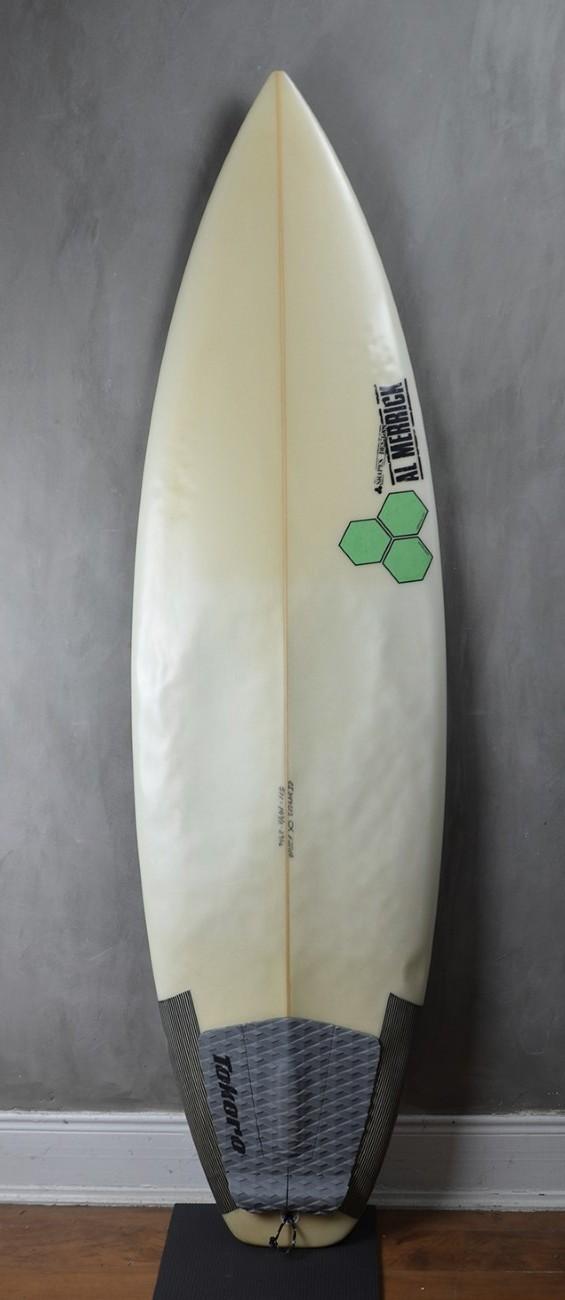 """Prancha de Surf Al Merrick Fred Stubble 5'11"""" Seminova"""