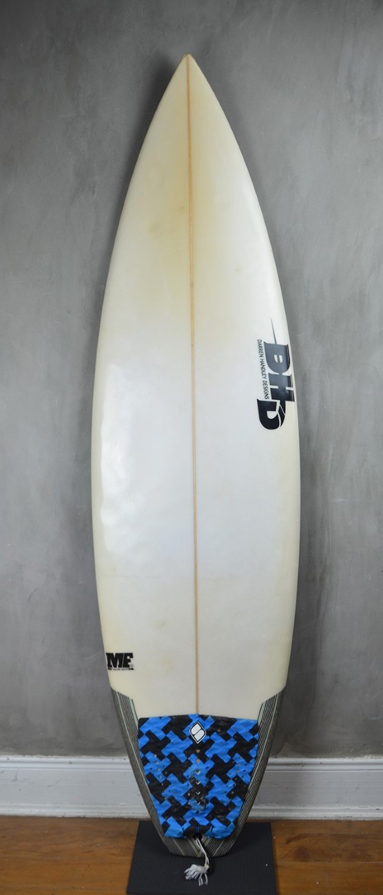 "Prancha de Surf DHD MF Duks Nuts 6'2"" seminova"