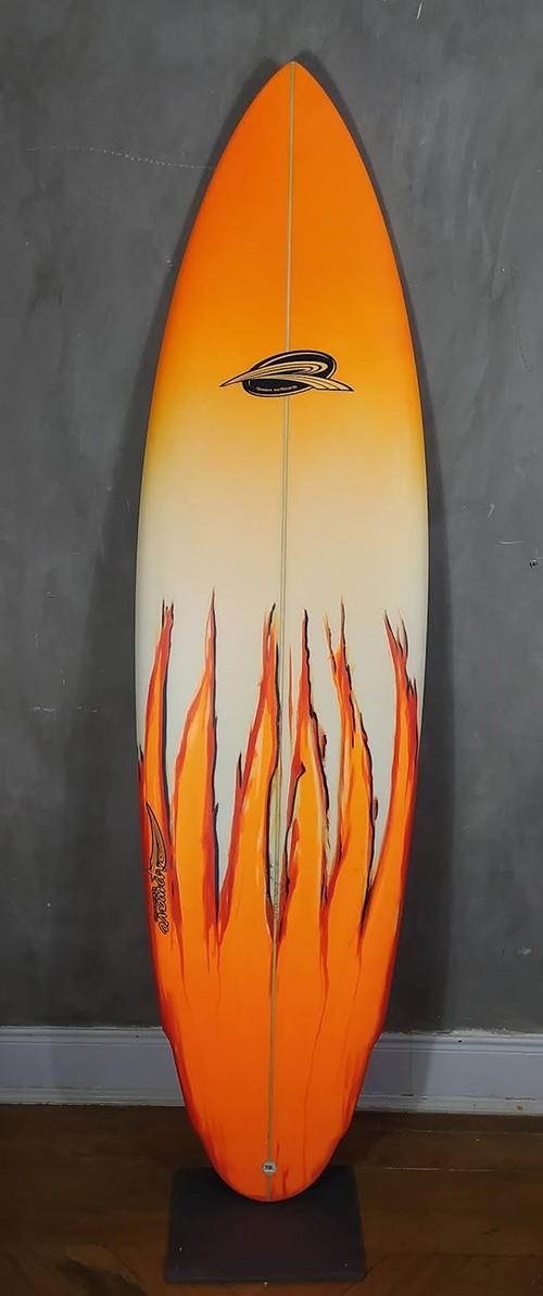 "Prancha de Surf Evolution Rip wave 6'6"" Laranja"