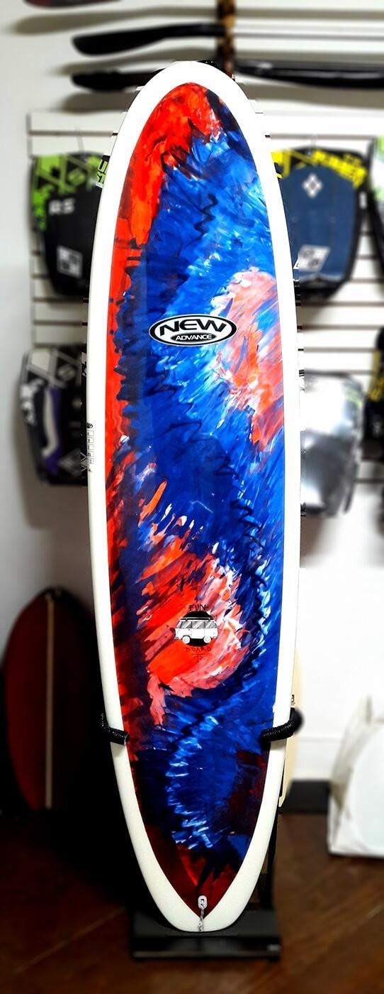 Prancha de Surf Funboard New Advance Colorido - Fabricação em 60 Dias
