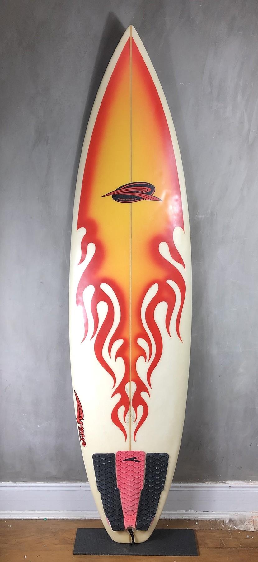 "Prancha de Surf Rip Wave 6'6"" Seminova"