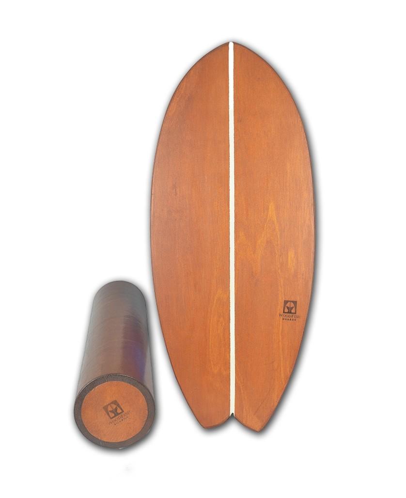 Prancha De Equilíbrio - Balance Board Para Treino Funcional E Surf Em Casa | Prancharia
