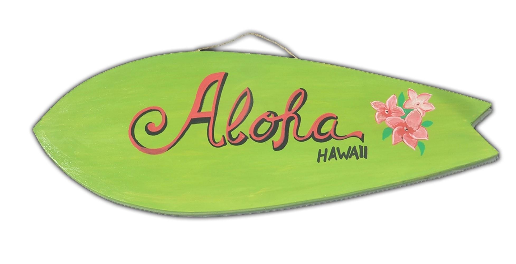 Pranchinha Decorativa Aloha Verde Flor | Prancharia