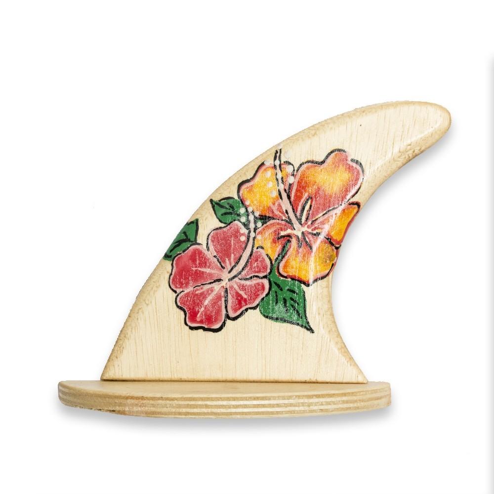 Quilha Decorativa 2 Hibiscos | Prancharia