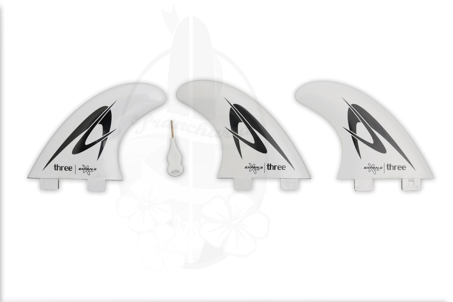 Quilhas Expans Three - Branca | Prancharia