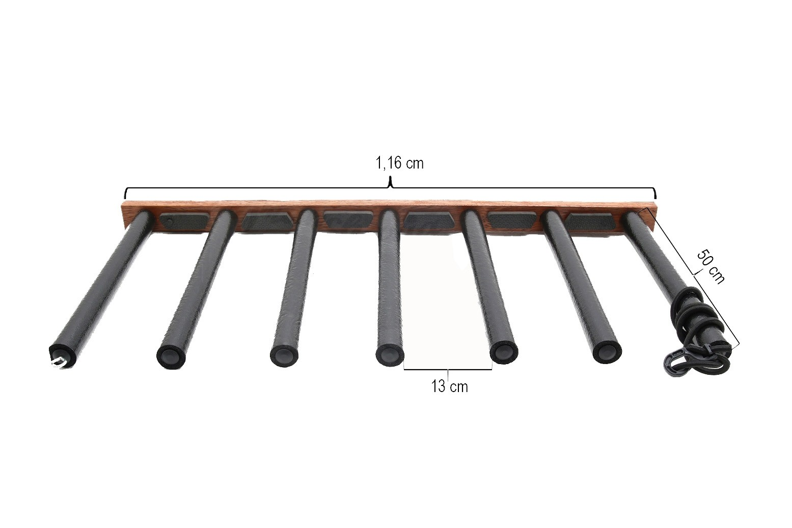 Rack Para 6 Pranchas Stand Up Paddle - Vertical - Madeira | Prancharia